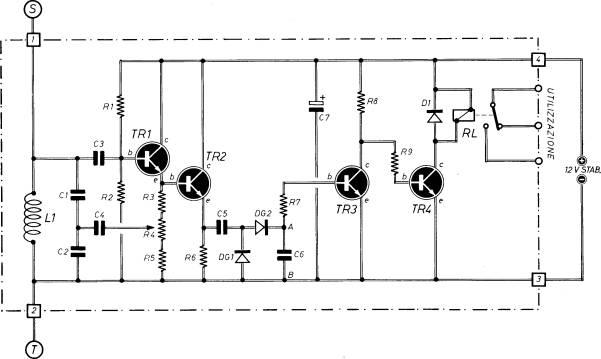 Schema Elettrico Rilevatore Di Presenza : Sensore di prossimita