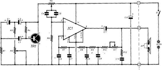 Schema Elettrico Ultrasuoni Per Cani : Insettifuga elettronico realizzazione e messa a punto