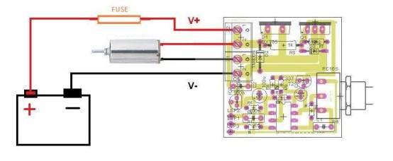 Schema Collegamento Motorino Tergicristallo : Mst k regolatore di velocita per motori in cc
