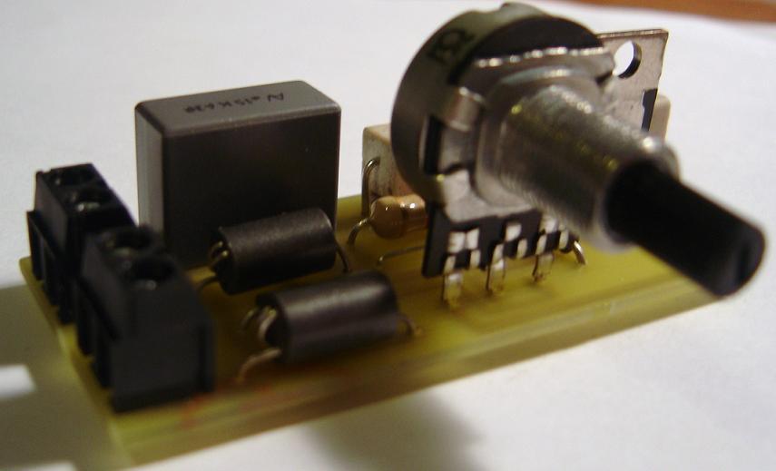 Schema Elettrico Regolatore Di Tensione Velocità Motore Elettrico Corrente Continua : Motore elettrico con regolatore di velocità montare