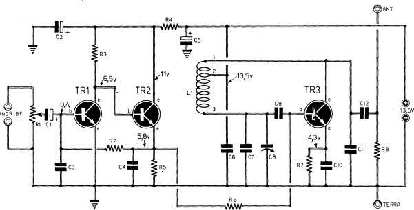 Schema Elettrico Per Watt : Tx ad onde medie costruzione della bobina e collaudo