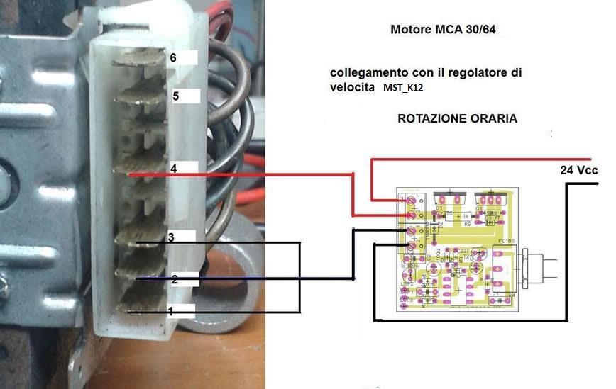 Schema Elettrico Regolatore Di Tensione Velocità Motore Elettrico Corrente Continua : Il motore elettrico universale mca regolatore di