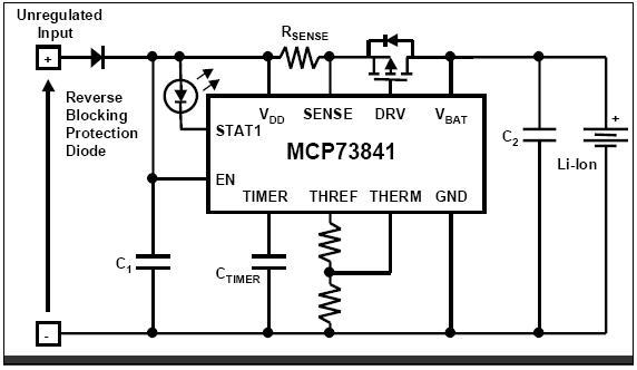 Schema Elettrico Per Carica Batterie Al Litio : Batterie ioni litio tecniche di carica circuito