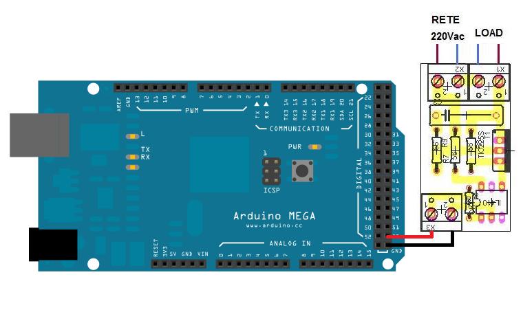 Arduino progetti pilotare l interruttore optoelettronico