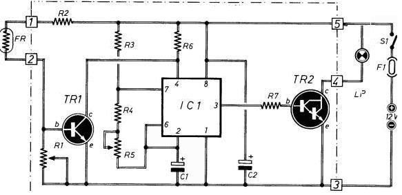 lampeggiatore automatico