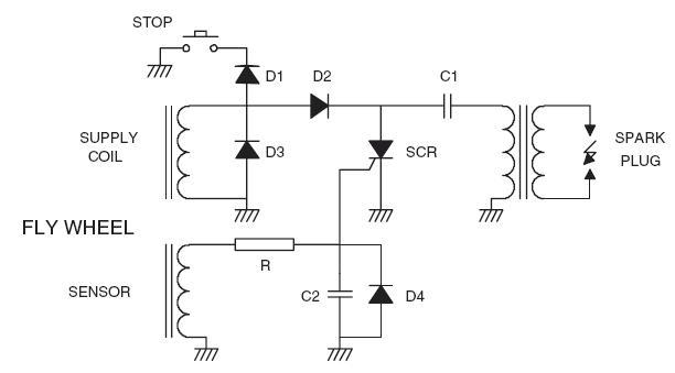 Schema Elettrico Per Doppia Accensione : Accensione elettronica a scarica capacitiva