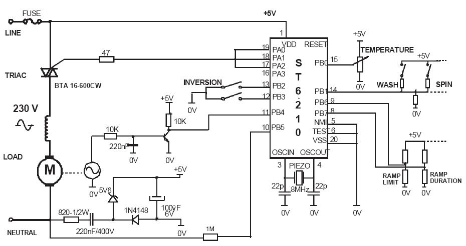 Variatore di velocità motore elettrico